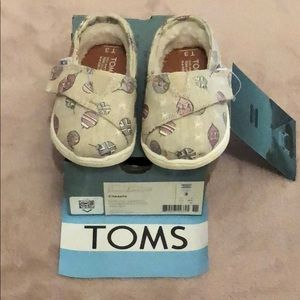 NWT Tiny TOMS Natural Sparkle Ornaments - 3